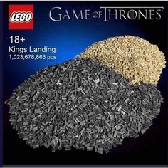 This is a place to enjoy and discuss the HBO series, book series ASOIAF, and GRRM works in general. Lego Games, X Games, Hbo Series, Series Movies, Gsme Of Thrones, Starwars, King's Landing, Game Of Thrones Funny, Got Memes