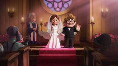 Up: una aventura de altura - Carl y Ellie