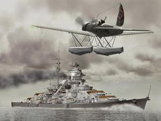 Bismarck battleship considered as one of the best built in WW2