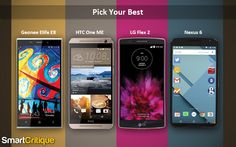 Up and cosy: Four Android smartphones of 2015