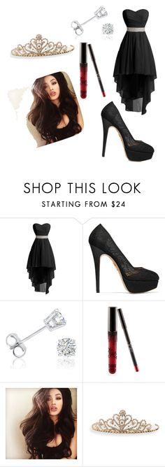 """""""Prom"""" by dessygirl0301 ❤ liked on Polyvore featuring Charlotte Olympia, Amanda Rose Collection and BillyTheTree"""