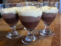 Café Lemonia: Sjokolademousse i tre lag.