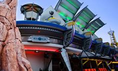 Tomorrowland Transit Authority In Disney World's Magic Kingdom...I remember going here. It was cool!