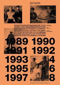 Herr Wempe a/k/a DJ Soulsonic: Rap History / Hipstory / Soul Gallen