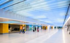 New Penn Station concourse is now open to the public. (© Magda Biernat)