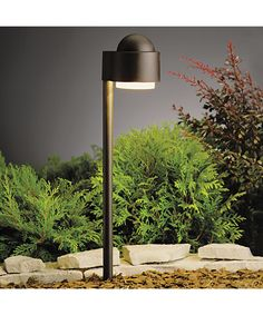 Buy the Kichler Textured Architectural Bronze Direct. Shop for the Kichler Textured Architectural Bronze Simplicity Xenon Path Light and save. Modern Landscape Lighting, Contemporary Outdoor Lighting, Modern Path Lights, Outdoor Pathway Lighting, Driveway Lighting, Modern Landscaping, Backyard Landscaping, Backyard Ideas, Outdoor Ideas