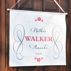 Both fun and unique, our Timeless Custom Wedding Banners will make your love soar to new heights on your big day! Designed exclusively for every couple in a durable poly canvas, this majestic banner comes to life with free personalization and accent color$53.99