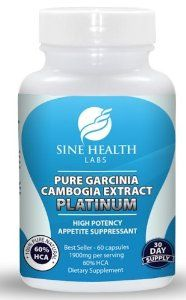 Amazon.com: Garcinia Cambogia Extract Pure Appetite Suppressant with Potassium & Calcium - 1900mg Clinically-proven, Multi-patented 60% HCA Extract Per Day (Only One Daily Serving of 1900mg) That Works for Weight Loss - 60 Capsules Per Bottle for a Full 30-Day Supply: Health & Personal Care
