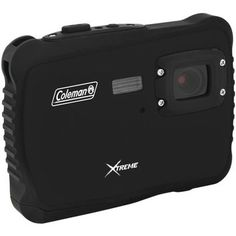 COLEMAN C6WP-BK 12.0-Megapixel MiniXtreme HD Video Waterproof Digital Camera (Black)