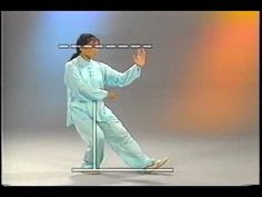 Young Woman Tai Chi Demonstration