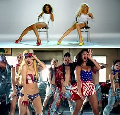 Beyonce Lady Gaga Video Phone Telephone With Images Lady