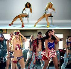 Beyonce & Lady Gaga - Video Phone & Telephone