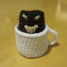 Make your own coffee monster.  Seriously, this thing is hilarious.