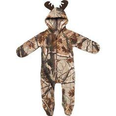 Game Winner® Infants' Realtree Xtra® Polar Fleece Hooded Pram Suit