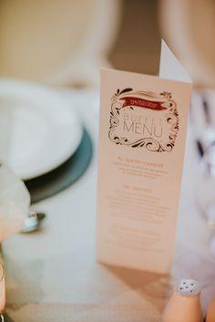 menu, wedding, red velvet theme, elaion loft, athens wedding, wedding party