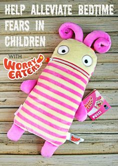 Worry Eaters Take the Fear Out of Bedtime