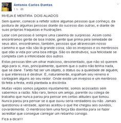 RN POLITICA EM DIA: DO FACEBOOK DE CARLOS DANTAS...