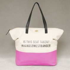 Kate Spade Call to Action Terry Tote