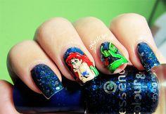 Nail Wish: Disney Challenge Day 24: La Sirenita