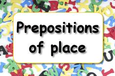 Do you want to practise using prepositions of place in English? Play our grammar games and have fun while you learn.