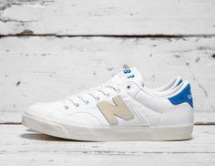 check out 62331 d9009 New Balance Pro Court Low OG sneakers in white and blue Mens Trainers,  Męski Casual