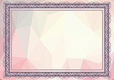 Certificate Border, Certificate Background, Certificate Frames, Certificate Of Participation Template, Certificate Design Template, Light Background Images, Islamic Wallpaper, Frame Template, Borders And Frames