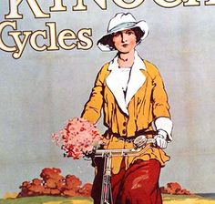 Kynoch Bicycles Birmingham England Lithograph by SurrenderDorothy, $18.89