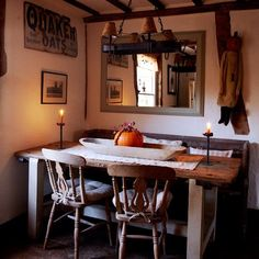 Charming dining room | Country-style decorating | Country cottage | PHOTO GALLERY | Housetohome.co.uk | housetohome.co.uk