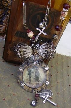 Red Daisy has LOADS of beautiful up-cycled jewelry made from vintage pieces !