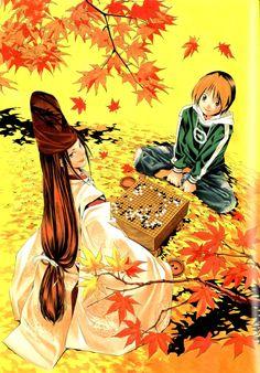 Tags: Hikaru no Go, Shindou Hikaru, Fujiwara no Sai