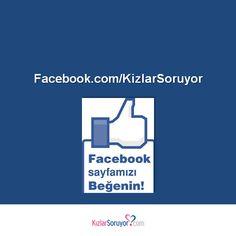 Kızlar Soruyor Facebook sayfamıza bekliyoruz! #Facebook