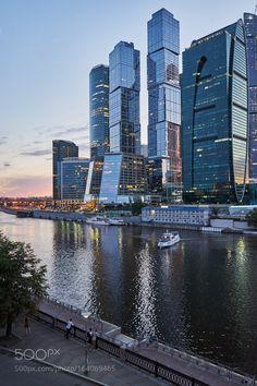 Moscow-City by igorehas. @go4fotos Rusia.
