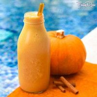 Pumpkin Spice Banana Smoothie - Fully Raw Kristina