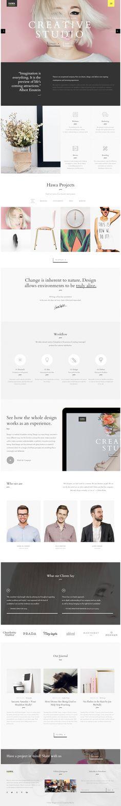 Hawa – A Hot Creative Design