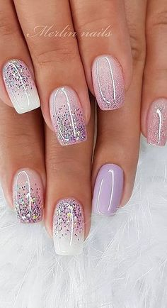 30 Newest Short Nails Art Designs To Try In 2020 - Makeup and Nails . - 30 Newest Short Nails Art Designs To Try In 2020 – Makeup and Nails art - Chic Nail Art, Chic Nails, Stylish Nails, Nail Art Diy, Nail Art Designs Images, Simple Nail Art Designs, Acrylic Nail Designs, Cute Summer Nail Designs, Blog Designs