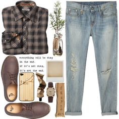 """Boyfriend #2"" by nikkistiletto96 on Polyvore I really need a pair of boyfriend jeans"