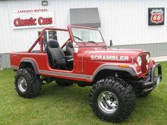 #jeep scrambler