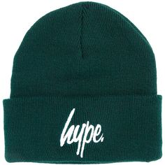 7df3ca81c83 Hype  Logo  Beanie ( 16) ❤ liked on Polyvore featuring mens