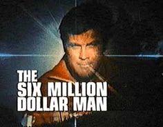 The Six Million Dollar Man--Lee Majors 1974-78