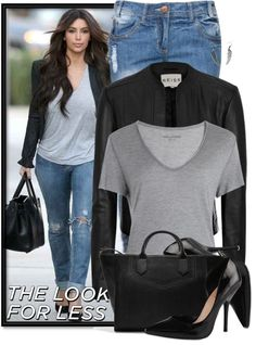 """The Look for Less"" by martina-16 ❤ liked on Polyvore"