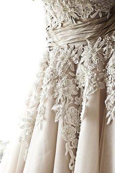 gown | lace details