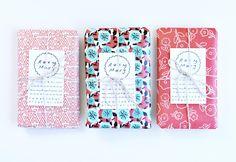 roxy's beautifully wrapped packages!  so sweet, roxy!! <3<3    via ROXY MARJ