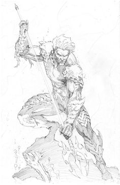 Aquaman by Jason Metcalf Comic Book Artists, Comic Books Art, Comic Art, Character Illustration, Illustration Art, Art Sketches, Art Drawings, Comic Book Drawing, Character Art
