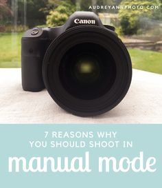 Do you understand why it's so important to learn how to manually control ALL functions your camera? Here's 10 reasons why!