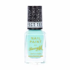 Turquoise Barry M texture nail polish - beauty / fragrance - gifts - women