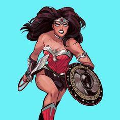 Wonder Woman | Babs Tarr #dccomics #comics #WonderWoman #babstarr