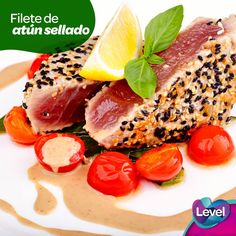 Prueba algo diferente, delicioso y muy saludable, es hora de preparar un filete de atún sellado.