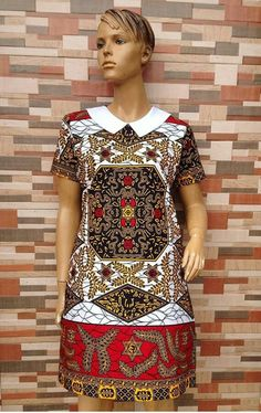 The complete collection of Exotic Ankara Gown Styles for beautiful ladies in Nigeria. These are the ideal ankara gowns Latest Ankara Dresses, Short African Dresses, Ankara Short Gown Styles, Latest African Fashion Dresses, African Print Dresses, African Traditional Dresses, Africa Fashion, African Attire, Fashion Outlet