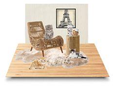 """Untitled #16"" by noura-03 on Polyvore featuring interior, interiors, interior design, home, home decor, interior decorating, Suki Cheema, UGG Australia, Chandra Rugs and Leftbank Art"