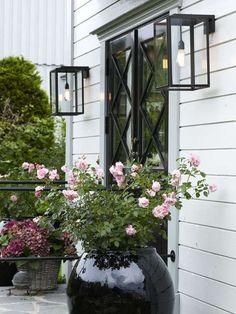 Lamper veranda eller inngangsdør